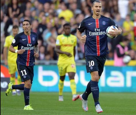 Nantes 1 x 4 PSG - Campeonato Francês(Liga 1) 2015/16