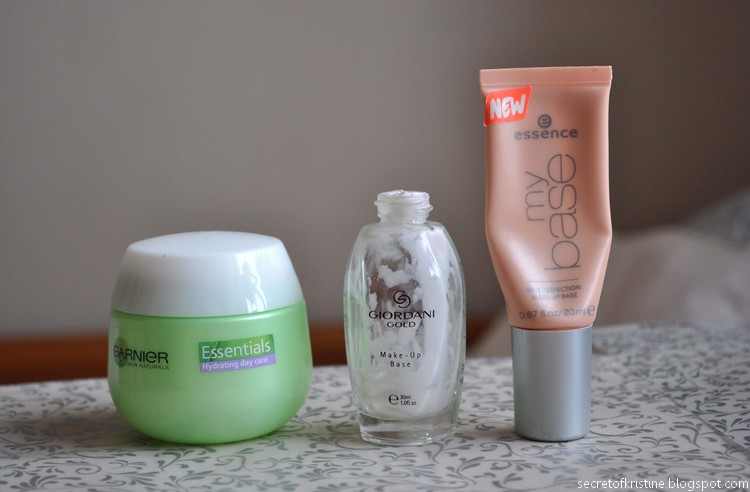 Garnier, Essence My base, Oriflame base
