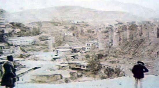 Bitlis'te Beş Minare den Biri Kayıp