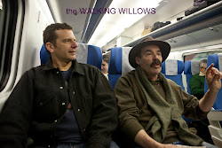 The WALKING WILLOWS on the train in Spain