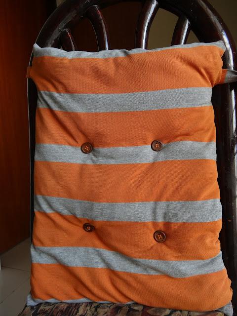 Tshirt pillow