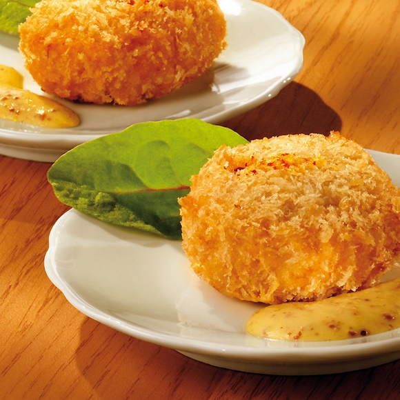 Crab Cake Sauce Moutarde Et Agrumes