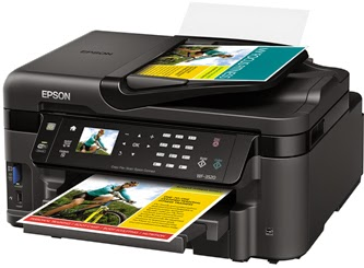 Epson WorkForce WF-3520 Printer Driver Download