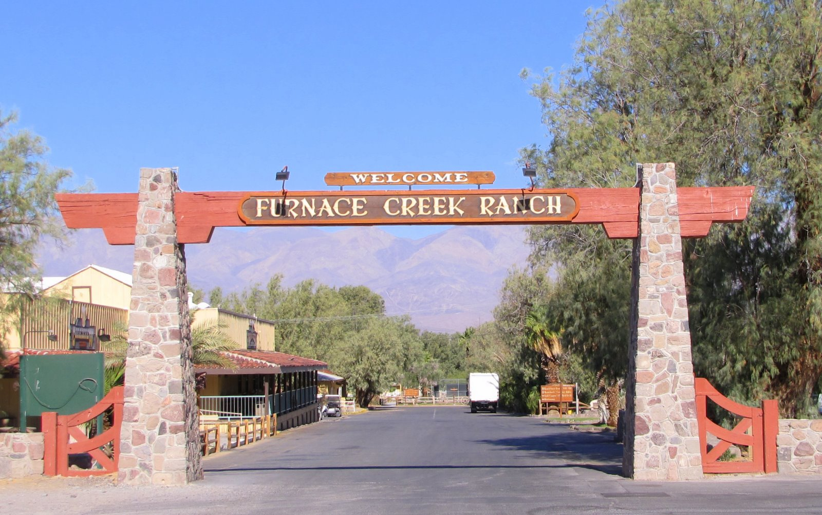 The Western Swing The Furnace Creek Ranch Death Valley