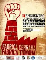 2e Rencontre latino-américaine des entreprises récupérées