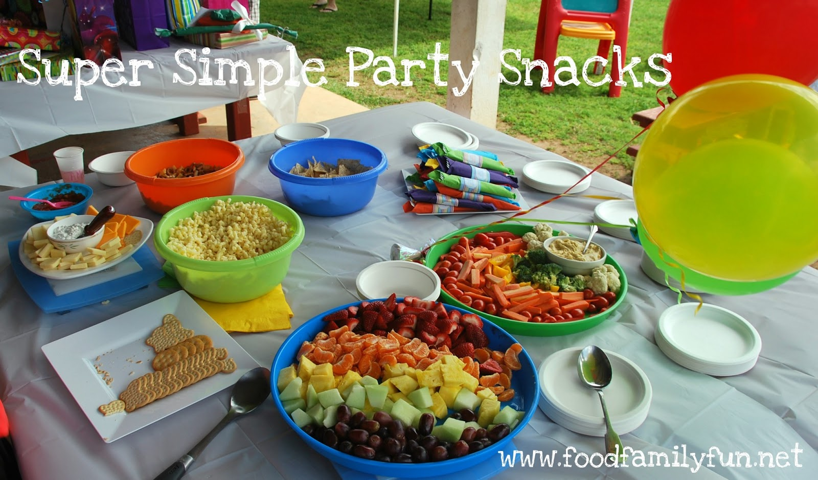food family fun rainbow art party. Black Bedroom Furniture Sets. Home Design Ideas