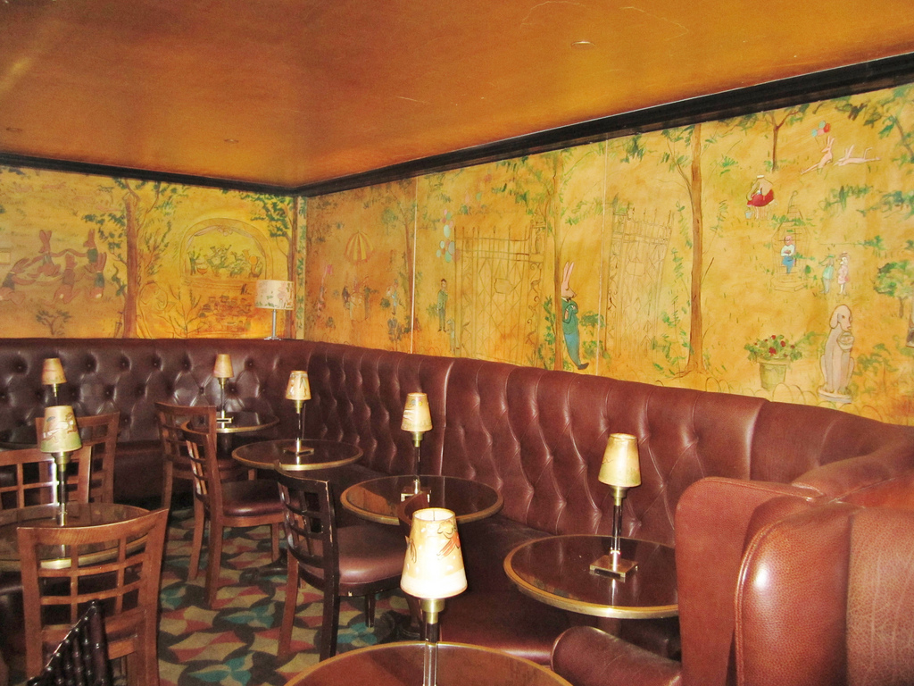 Corinne robbins blog for Bemelmans bar mural