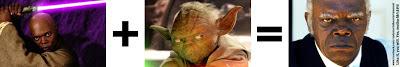 Mace Windu Yoda Samuel L Jackson Django Unchained