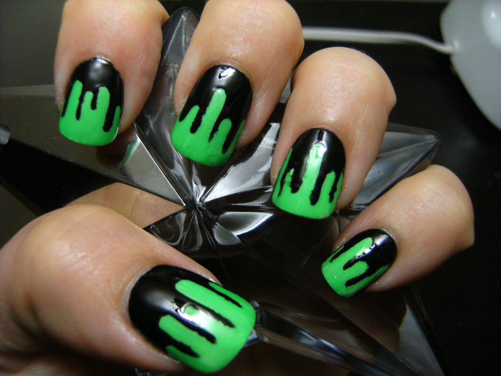 10 halloween nail ideas - Easy Cute Halloween Nail Designs