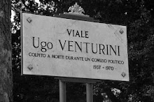 GENOVA - GIARDINI DI BRIGNOLE -  VIALE INTITOLATO A UGO VENTURINI