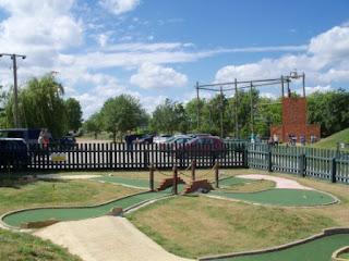 Miniature Golf at Suffolk Leisure Park in Ipswich