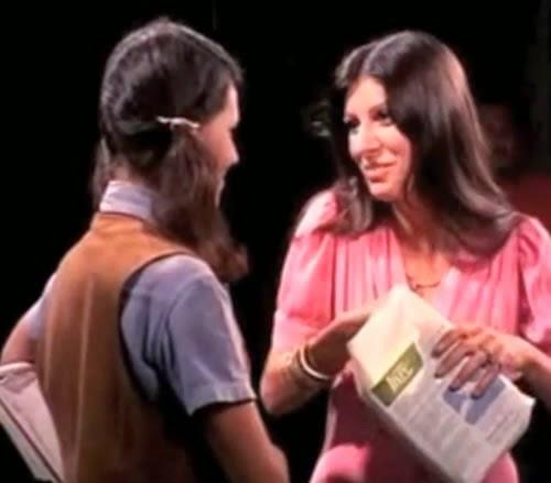 Propaganda do absorvente Sempre Livre, veiculado nos anos 70 com a jovem atriz Marília Pera.
