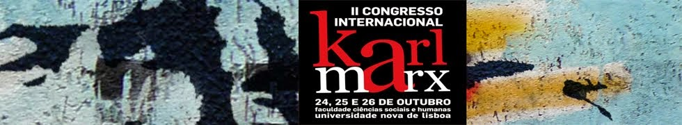 II Congresso Internacional Karl Marx