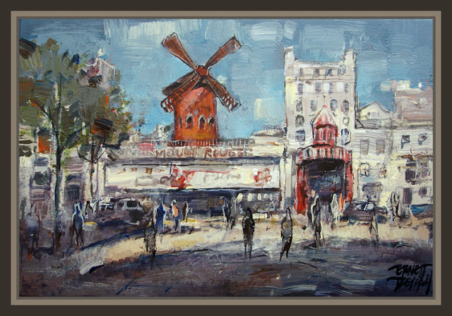 MOULIN ROUGE-PARIS-FRANCIA-FRANCE-CUADROS-PINTURAS-PAINTINGS-PINTOR-ERNEST DESCALS