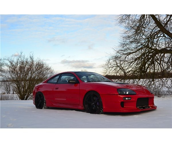 Toyota Celica Coupe Hatchback To: New Dream Cars: 18-Year Old Builds A Toyota Supra Replica