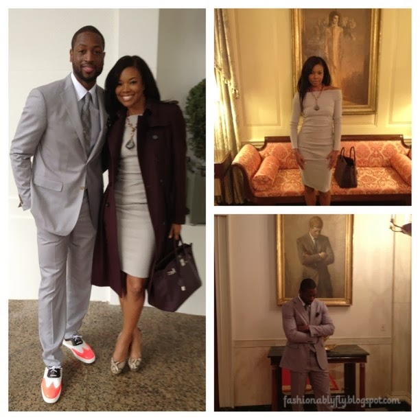 Gabrielle Union And Dwyane Wade Championship 2013 Cute Couple: Ga...