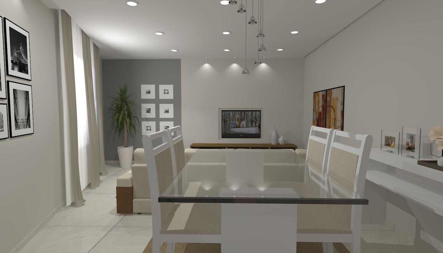 13 06 2013 em ambientes integrados sala de estar sala de jantar salas #36485C 1470 840