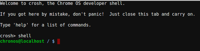 Command Shell