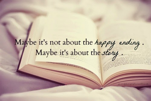 It's not ever about the happy ending