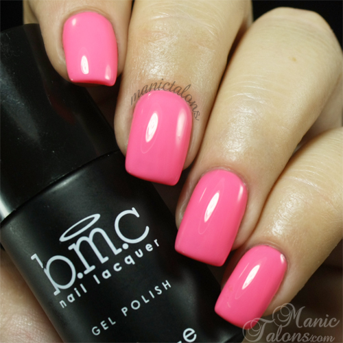 BMC Gel Polish Sunset Walk Swatch