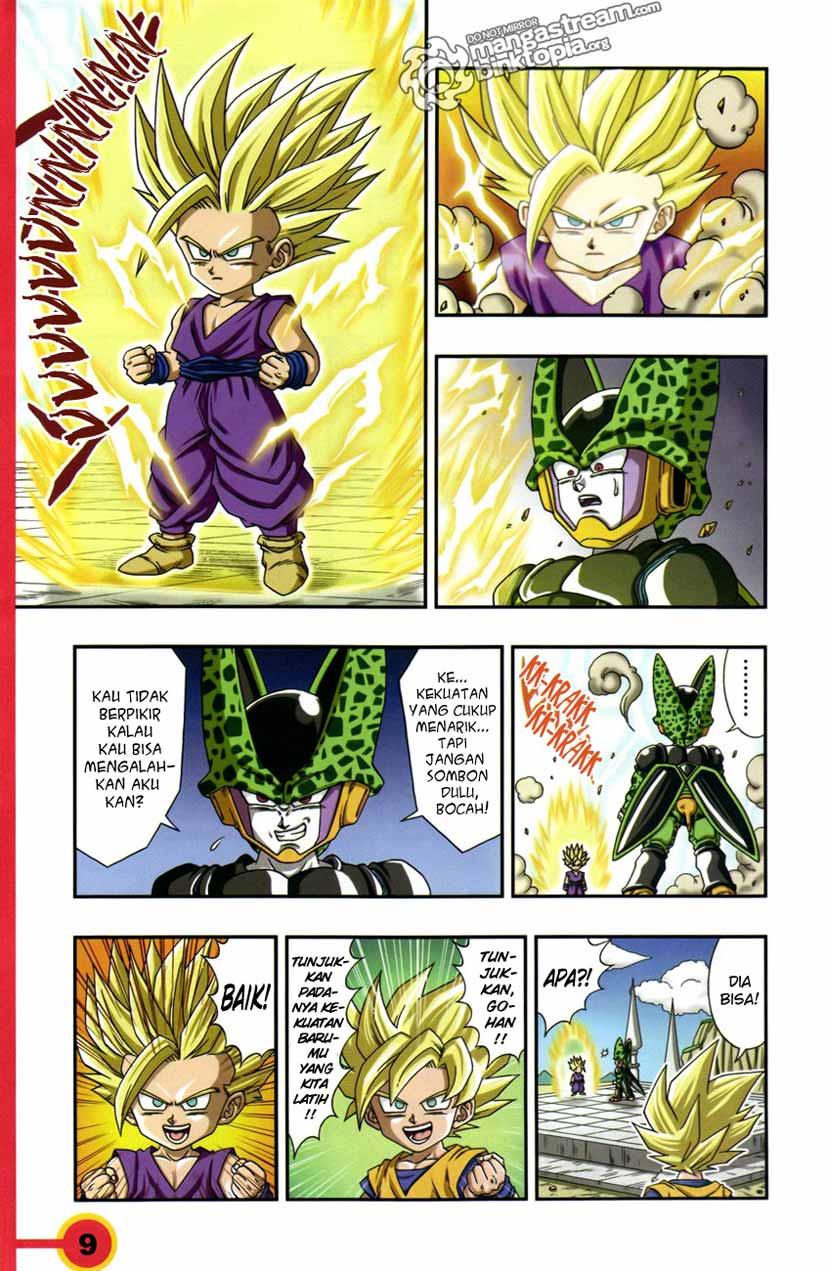 komik edisi melayu dragon ball sd
