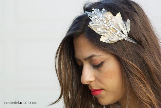 Head Band Wedding 25 Amazing Beaded embellishment brooch or