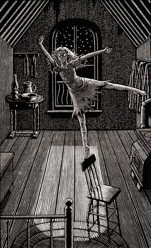 15-Night-Time-Madness-Douglas-Smith-Scratchboard-Drawings-Through-Time-and-Lives-www-designstack-co