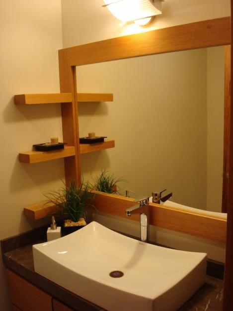 Muebles Para Baño Toluca: Contemporánea: Acabados y detalles decorativos para el baño