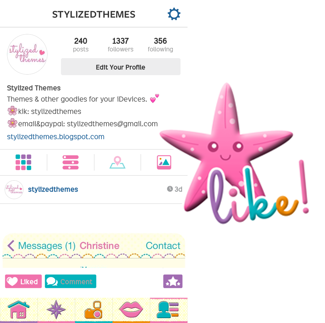 Gmail themes 2014 free download - Download Summer Lovin Instagram Theme