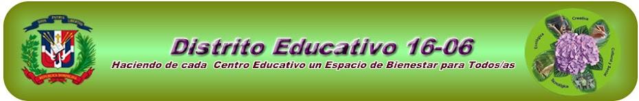 Distrito Educativo 1606