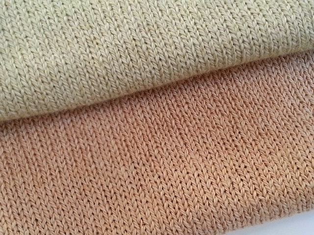 Knit Material : Jolly! Crafting Fashion: Color-Grown Cotton Knit Fabric