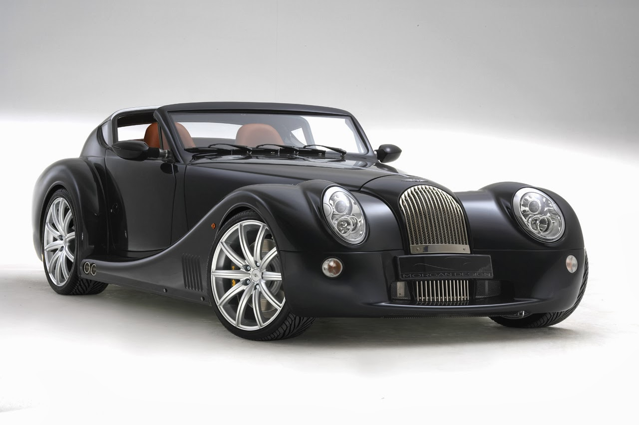Morgan Aero Supersport classic design of high-performance