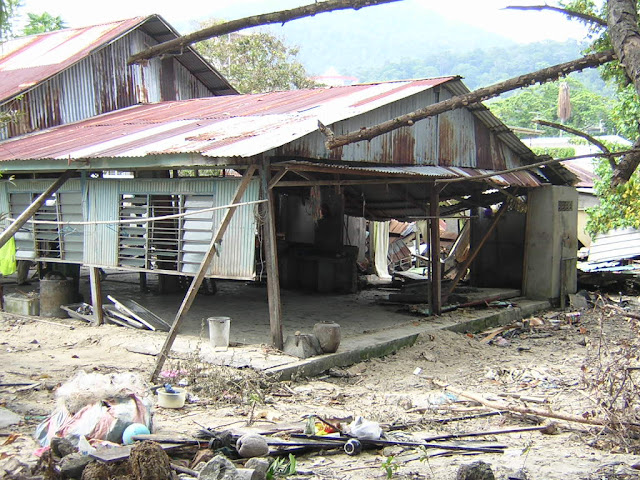2004 Tsunami Damage