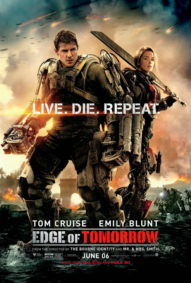 La película Edge of Tomorrow ( Al filo del mañana )