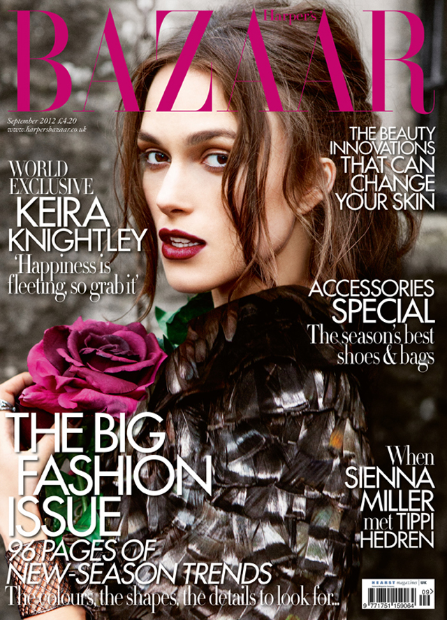 Keira Knightley harper's bazaar uk september 2012