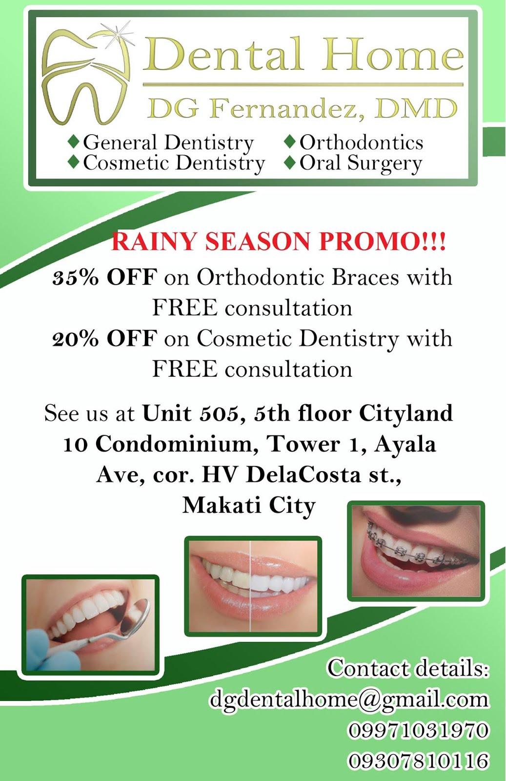 DG Dental Home Promo