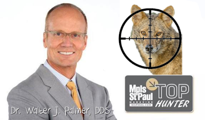 Walter J Palmer about to take out a canine