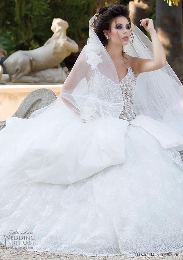Princess wedding dress s : Wedding dresses and trends daniel degli onofri