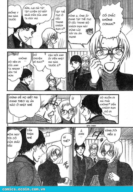 Detective Conan - Thám Tử Lừng Danh Conan chap 606 page 8 - IZTruyenTranh.com
