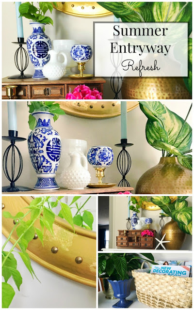 summer entryway decorating ideas