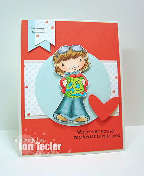 Wherever You Go card-designed by Lori Tecler/Inking Aloud-stamps from Sugar Pea Designs