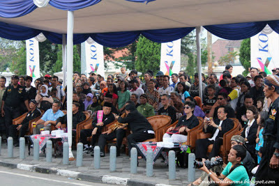 malioboro pencak festival petinggi dan tamu undangan
