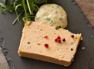 Le carnet de janane terrine de saumon sauce mousseline for Entree sans poisson
