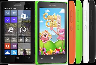 Spesifikasi dan Harga Smartphone Microsoft Lumia 435