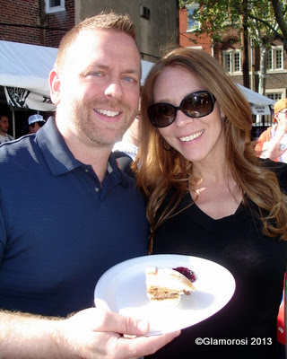 Publicist Kory Aversa and Philly Style Magazine EIC Kristin Detterline, Philly Burger Brawl 2013 - Photo by Glamorosi