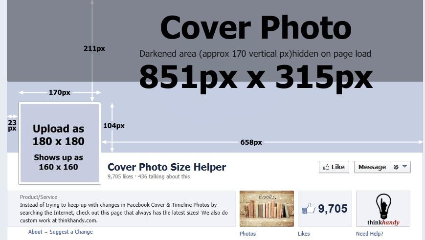 размер фото для обложки видео