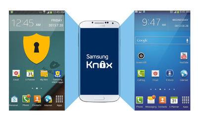 Dois números de WhatsApp no mesmo aparelho Samsung com o aplicativo Samsung My KNOX
