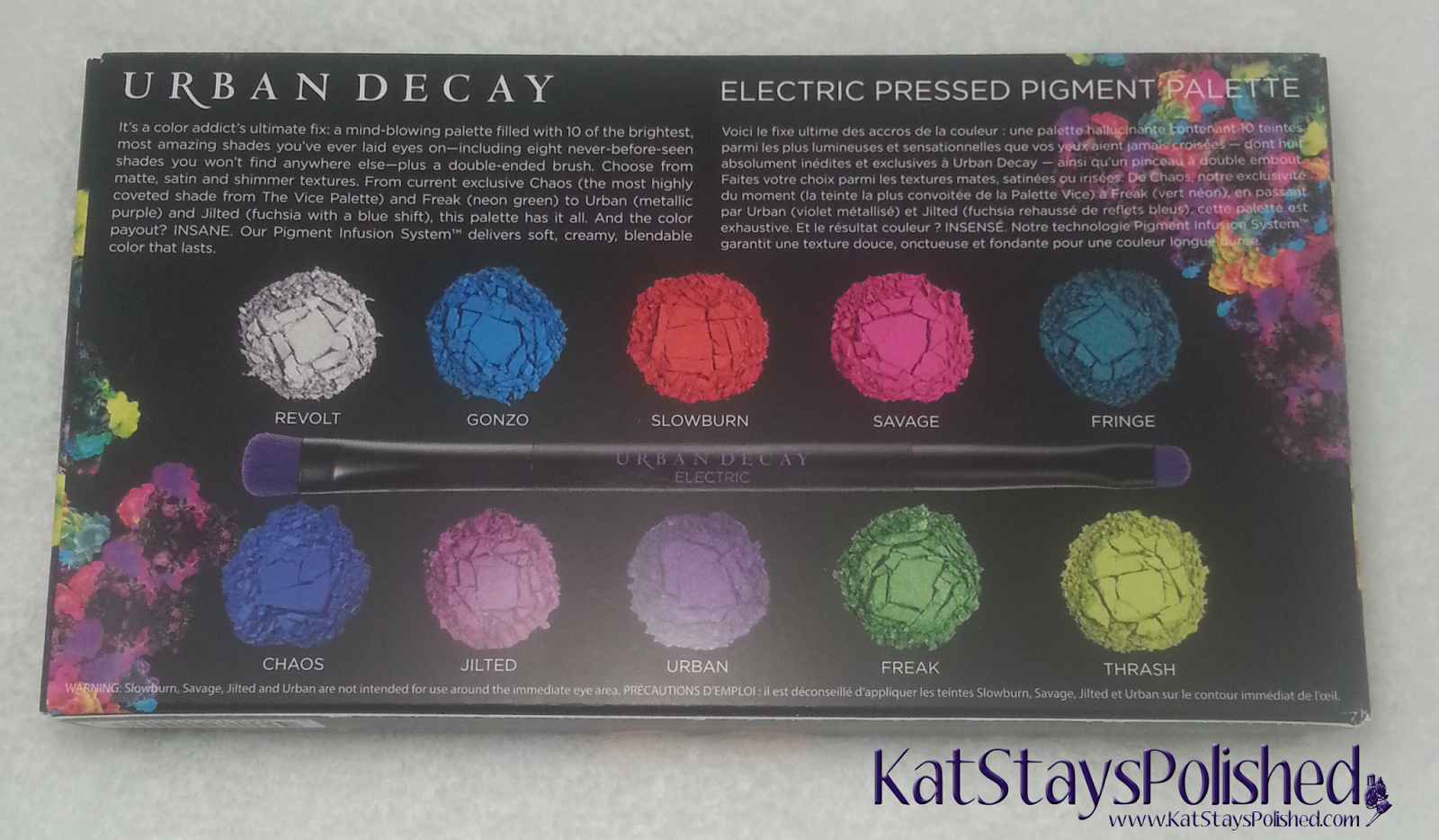 Urban Decay Electric Palette | Kat Stays Polished