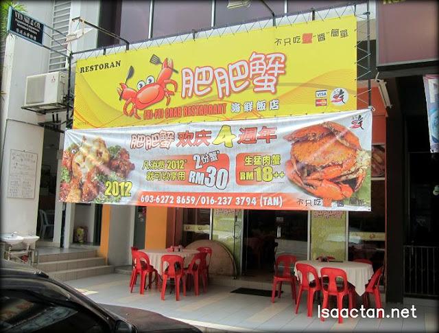 Fei Fei Crab Restaurant Desa Aman Puri, Kepong