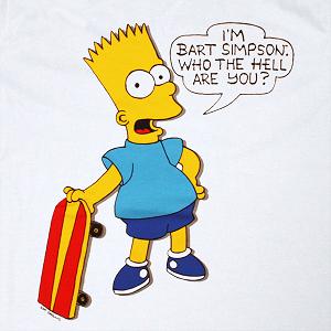 Bart simpson wedding